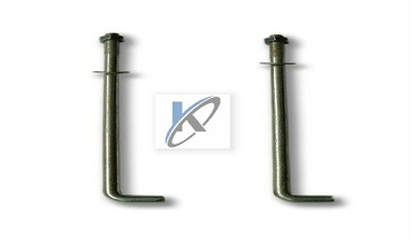 Hot Dip Galvanized l anchor bolts