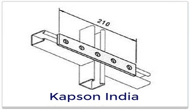 flate plate 5 hole strut support system manufacturer ludhiana