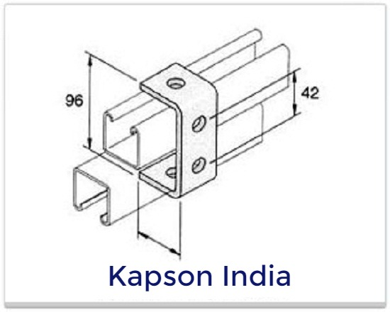 c bracket 80mm Fasteners products