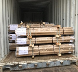packing threaded rods